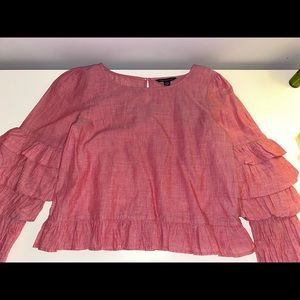 american eagle outfitters blouse sz small